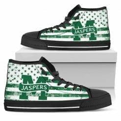 NCAA Manhattan Jaspers High Top Shoes