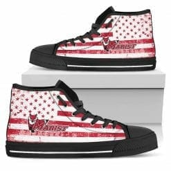 NCAA Marist Red Foxes High Top Shoes