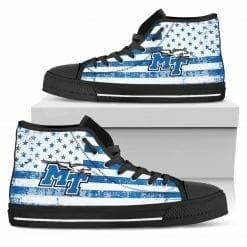 NCAA Mid. Tenn. St. Blue Raiders High Top Shoes