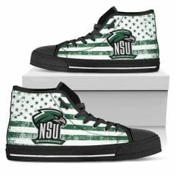 NCAA Northeastern State Riverhawks High Top Shoes