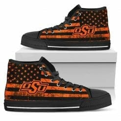 NCAA Oklahoma State Cowboys High Top Shoes