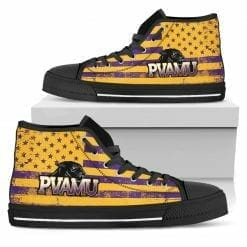 NCAA Prairie View A&M Panthers High Top Shoes