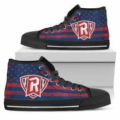 NCAA Radford Highlanders High Top Shoes