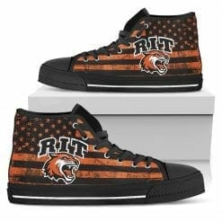 NCAA Rochester Institute of Technology Tigers High Top Shoes