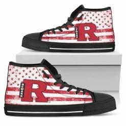 NCAA Rutgers Newark Scarlet Raiders High Top Shoes