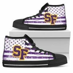 NCAA San Francisco State Gators High Top Shoes