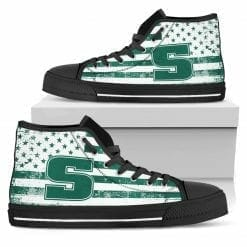 NCAA Slippery Rock Pride High Top Shoes