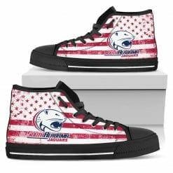 NCAA South Alabama Jaguars High Top Shoes