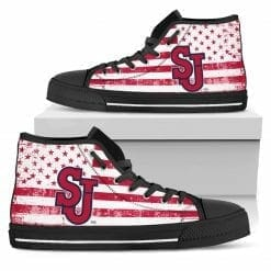 NCAA St. Johns Red Storm High Top Shoes