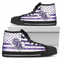 NCAA Stephen F Austin Lumberjacks High Top Shoes
