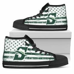 NCAA Stetson Hatters High Top Shoes