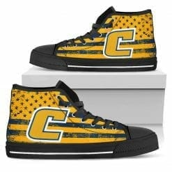 NCAA Tennessee Chattanooga Mocs High Top Shoes