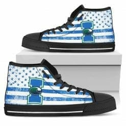 NCAA Texas A&M Corpus Christi Islanders High Top Shoes