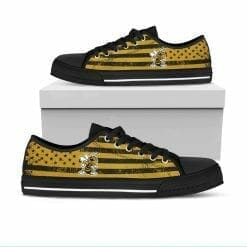 NCAA West Virginia State Yellow Jackets Low Top Shoes