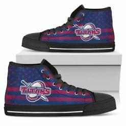 NCAA University of Detroit Mercy Titans High Top Shoes
