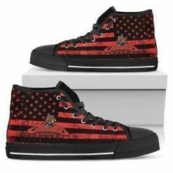 NCAA University of Houston-Victoria Jaguars High Top Shoes