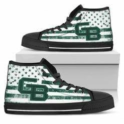 NCAA Wisconsin-Green Bay Phoenix High Top Shoes