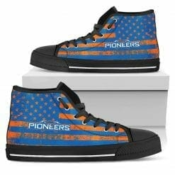 NCAA Wisconsin-Platteville Pioneers High Top Shoes