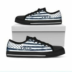 NCAA Yale Bulldogs Low Top Shoes