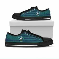 NCAA UNC Wilmington Seahawks Low Top Shoes