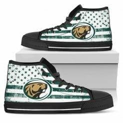 NCAA Bemidji State Beavers High Top Shoes
