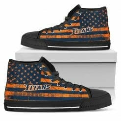 NCAA Cal State Fullerton Titans High Top Shoes