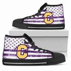 NCAA Carroll College Fighting Saints High Top Shoes
