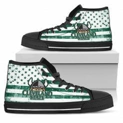 NCAA Cleveland State Vikings High Top Shoes