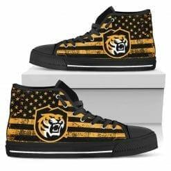NCAA Colorado College Tigers High Top Shoes
