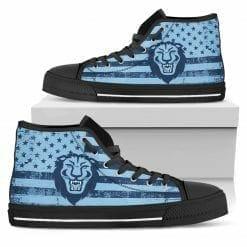 NCAA Columbia University Lions High Top Shoes