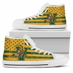 NCAA Vermont Catamounts High Top Shoes