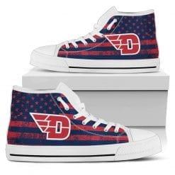 NCAA Dayton Flyers High Top Shoes