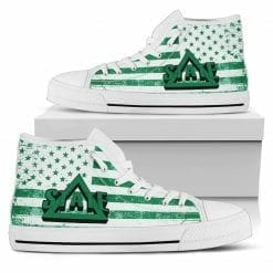 NCAA Delta State Statesmen High Top Shoes