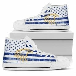 NCAA Embry-Riddle Eagles High Top Shoes