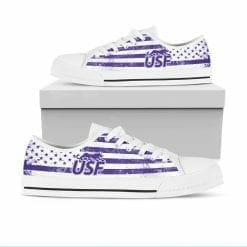 NCAA University of Sioux Falls Cougars Low Top Shoes