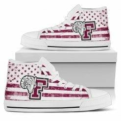 NCAA Fordham Rams High Top Shoes