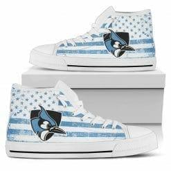 NCAA Johns Hopkins Blue Jays High Top Shoes