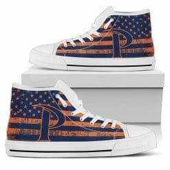 NCAA Pepperdine Waves High Top Shoes