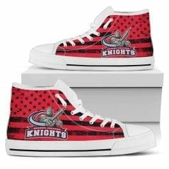 NCAA Queens College Knights High Top Shoes