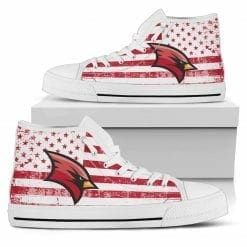 NCAA Saginaw Valley State Cardinals High Top Shoes