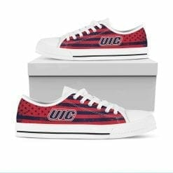 NCAA UIC Flames Low Top Shoes