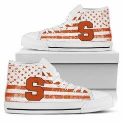 NCAA Syracuse Orange High Top Shoes