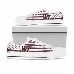 NCAA West Texas A&M Buffaloes Low Top Shoes