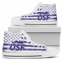 NCAA University of Sioux Falls Cougars High Top Shoes