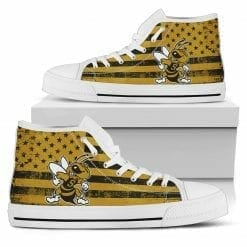 NCAA West Virginia State Yellow Jackets High Top Shoes