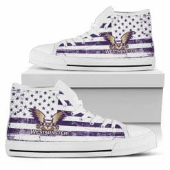 NCAA Westminster Griffins High Top Shoes