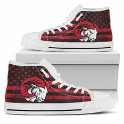 NCAA Winston-Salem State Rams High Top Shoes