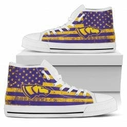 NCAA Wisconsin-Stevens Point Pointers High Top Shoes