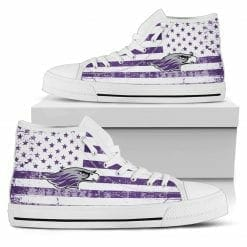 NCAA Wisconsin-Whitewater Warhawks High Top Shoes