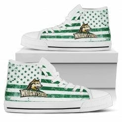 NCAA Wright State Raiders High Top Shoes